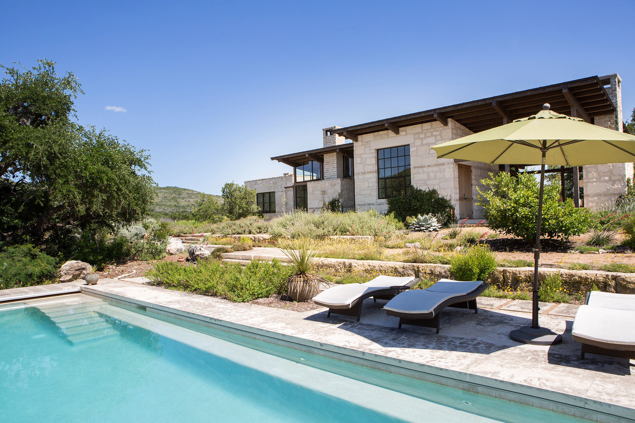 In texas hill country a land rush for the rich heritage for Country home builders in texas